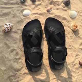 Giày Sandal đế bằng quai chéo siêu dẻo - siêu dẻo thumbnail