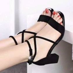 Giày cao gót nơ tầng