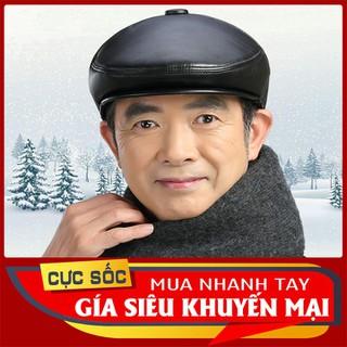 Mũ nồi mùa đông viền da - Mũ da dành cho ông, bố - MDOG-1 thumbnail