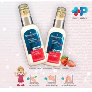 Combo 2 tuýp Gel rửa tay khô ngừa khuẩn EXPERT TRẺ EM Niverlazione - HP07HC thumbnail