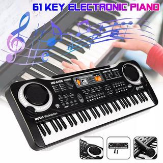 Đàn Piano 61 Phím Cho Bé - Đàn Organ đồ chơi có micro chạy điện - Đàn đồ chơi MQ6106 thumbnail