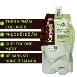 [ Chinh Hang ] KEM Ủ TÓC Collagen - Ủ Tóc Collagen Karseell Giúp Mềm Mượt Phục Hồi Hư Tổn - GIÁ SỐC HÀNG CHUẨN thumbnail
