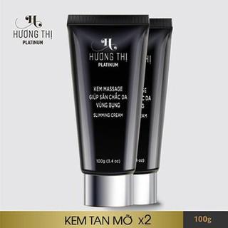 Combo 2 Hộp Kem massage tan mỡ Hương Thị Slimming Cream - 655655434 thumbnail