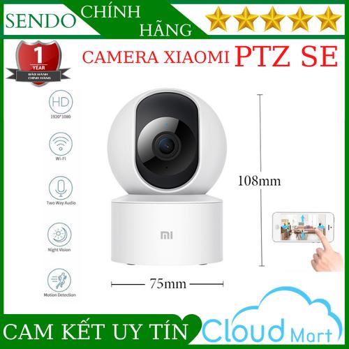 ( Bảo Hành 24 Tháng ) Camera Wifi Xiaomi PTZ SE Xoay 360 Độ, Độ Phân Giải 2.0Mpx 1080Pixel Đàm Thoại 2 Chiều Cảnh Báo Chuyển Động