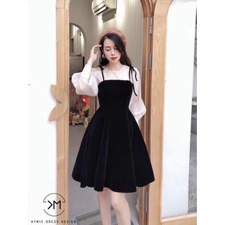 Yếm kèm áo dễ thương set bộ yếm nữ xinh xắn - MAIB56 thumbnail