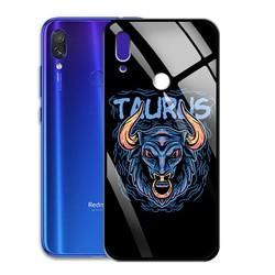 Ốp Lưng Mặt Kính Cường Lực siêu đẹp Cho Điện Thoại Xiaomi Redmi Note 7 PRO - 03071 9512 TAURUS 22