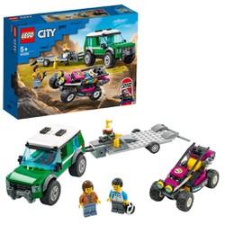 LEGO 60288 City - Xe Tải Vận Chuyển Mô Tô Địa Hìn