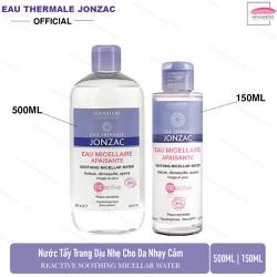 Nước tẩy trang dịu nhẹ dành cho da nhạy cảm Eau Thermale Jonzac Soothing Micellaire Water