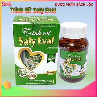 [Hộp 40 viên] Viên Uống Trinh Nữ Saly Eval - Thành phần cao xạ đen, trinh nữ hoàng cung giúp ngăn ngừa U xơ, u vú, u tuyến tiền liệt hiệu quả - chuẩn GMP - Viên Uống Trinh Nữ Saly Eval - hình tim thumbnail