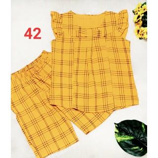Bộ đũi cao cấp - quần lửng có túi - ẢNH THẬT-CHO KIỂM HÀNG - 205 thumbnail