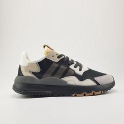 Giày sneaker nam Nite Jogger 2019 Black/Grey-Creamy White
