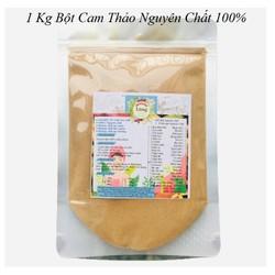Bột Cam Thảo 1 Kg có giấy VSATTP và ĐKKD nguyên chất thiên nhiên 100% dùng để đắp mặt đa công dụng