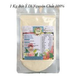 Bột Ý Dĩ 1 Kg có giấy VSATTP và ĐKKD nguyên chất thiên nhiên 100% dùng để đắp mặt đa công dụng