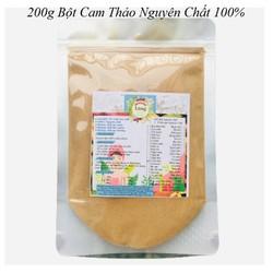 Bột Cam thảo 200g có giấy VSATTP và ĐKKD nguyên chất thiên nhiên 100% dùng để đắp mặt đa công dụng