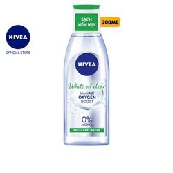 Nước tẩy trang NIVEA kiểm soát nhờn White Oil Clear Micellar Water  200ml  - 86609