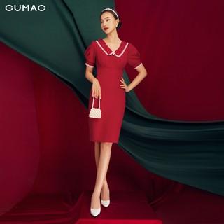 Đầm xếp ngực bản eo GUMAC DB1170 - DB1170 thumbnail