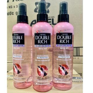 Xịt Dưỡng Tóc Double Rich chăm sóc tóc khô xơ và hư tổn 250ml mầu hồng - 6573912322 thumbnail