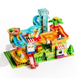 Bộ Cầu trượt cao óc xoay điện 223 khối - Duplo - Lego - Chính hãng FEELO