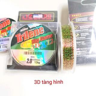 cước thẻo cước mỹ 3D tàng hình cước câu cá 50m nano - cước thẻo cước mỹ 3D tàng hình cước câu cá xx thumbnail