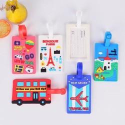 Thẻ bảng tên hành lý vali balo túi xách đi du lịch tránh thất lạc đồ đạc