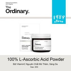Bột Vitamin C Nguyên Chất Mờ Thâm, Sáng Da The Ordinary 100% L-Ascorbic Acid Powder 20G
