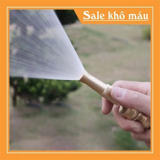 Đầu vòi xịt tăng áp mini bằng đồng phun nước rửa xe, tưới cây - DVXRXV-1 thumbnail