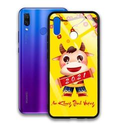 Ốp Lưng Mặt Kính Cường Lực siêu đẹp Cho Điện Thoại Huawei Nova 3i - 03038 9510 TRAUVANG 20