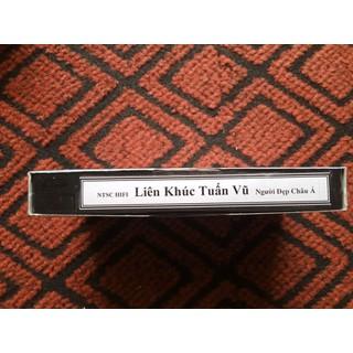 vhs cassette thềm xưa băng video vhs cho đầu video VCR liên khúc tuấn vũ người đẹp Châu Á - lien khuc tuan vu thumbnail