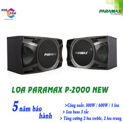 Loa PARAMAX-P 2000 NEW Hàng Chính Hãng