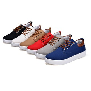 Giày Thể Thao Nam - Giày Vải Thiếu Kế Đơn Giản N01 thumbnail