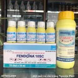 Thuốc diệt côn trùng fendona 10SC