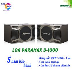 Loa karaoke Paramax-D 1000 New Hàng Chính Hãng