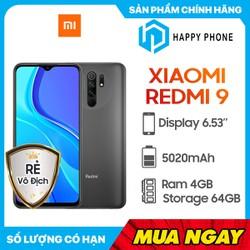 Điện thoại Xiaomi Redmi 9 (64GB/4GB) - Hàng Chính Hãng, Nguyên Seal, Bảo hành 12 tháng - REDMI9