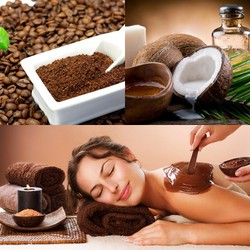 100gr Bột Cà Phê Tẩy Tế bào Chết - Tắm Trắng, Làm Mịn Da (Mặt và Toàn Thân)  - Rey Cafe