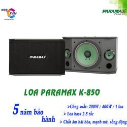 Loa Paramax-K 850 New Hàng Chính Hãng
