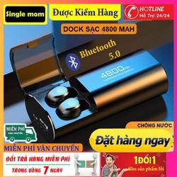 Tai Nghe Bluetooth TWS F9 S11-Tai Nghe Nhét Hai Tai Bluetooth 5.0 True wireless Cảm Ứng Vân Tay,Chống Nước Dock Sạc Dự Phòng 4800mAh-Tai nghe bluetooth pin trâu, Tai nghe nhét tai không dây
