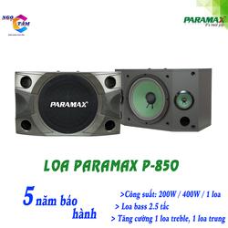 Loa Paramax-P 850 New Hàng Chính Hãng