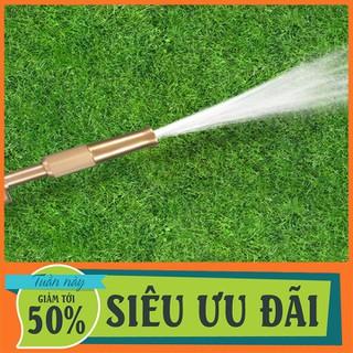 Đầu vòi xịt tăng áp mini bằng đồng phun nước rửa xe, tưới cây tăng áp đa năng - DVXRXV-1 thumbnail