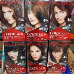 Thuốc nhuộm tóc Revlon Colorsilk Mỹ 130ml