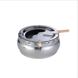Gạt tàn thuốc nắp xoay inox - GTT002 - GTT002 thumbnail