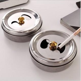 Gạt tàn thuốc nắp xoay inox - GTT001 - GTT001 thumbnail