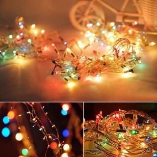 Đèn nháy bóng kim trang trí lễ hội, tết nhiều màu - đènnháy. thumbnail