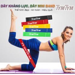 Dây mini Band, Kháng lực tập chân mông , phụ kiện gym chính hãng