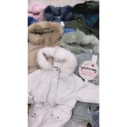Áo khoác parka kèm bộ đồ nữ 2601