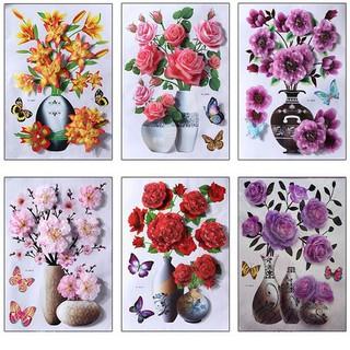 TRANH HOA NỔI 3D trang trí nhà cửa - tranh hoa nổi thumbnail