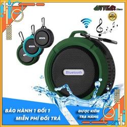 Loa không dây, loa bluetooth, loa di động C6, thiết kế chống va đập, chống thấm nước, có móc treo, thích hợp đi dã ngoại, du lịch, bluetooth 5.0, hỗ trợ thẻ nhớ mở rộng, nghe đài FM