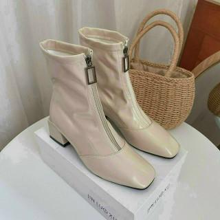 Boot nữ cổ Trung đẹp hiện đại - 004 thumbnail