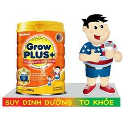 Sữa bột grow plus cam cho bé chậm tăng cân 900g
