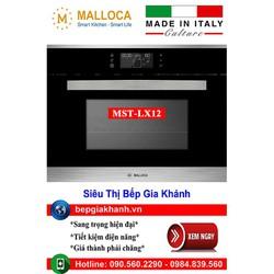Lò nướng kèm hấp Malloca MST-LX12 nhập khẩu Italy