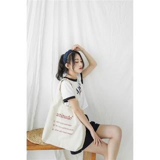 Túi Vải Đeo Vai Phong Cách Nhật Bản Cao Cấp XinhStore - 5719655823 thumbnail